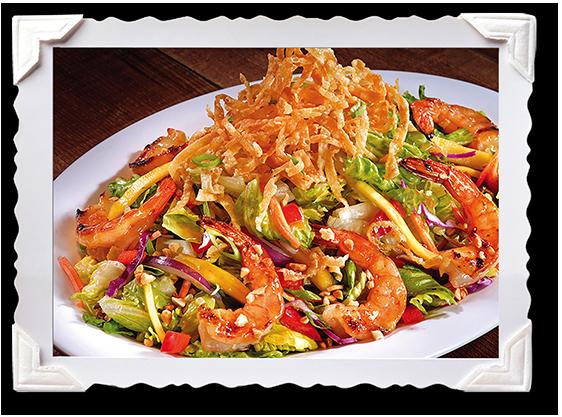 Yin Yang Shrimp Salad 2
