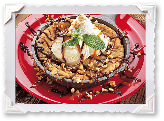 chocolate Chio Cookie Sundae